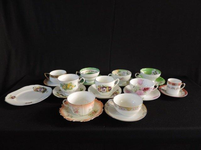 10 Tea Cup & Saucer Box Lot