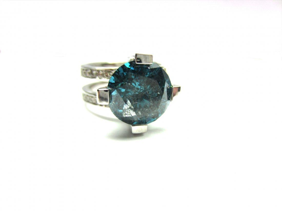 Diamond Ring 4.8 ct Total