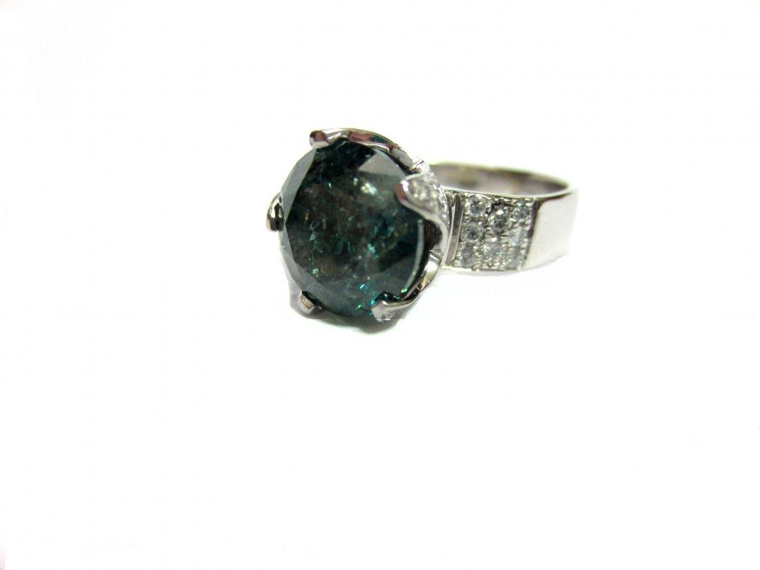 Diamond Ring 4.3 ct Total