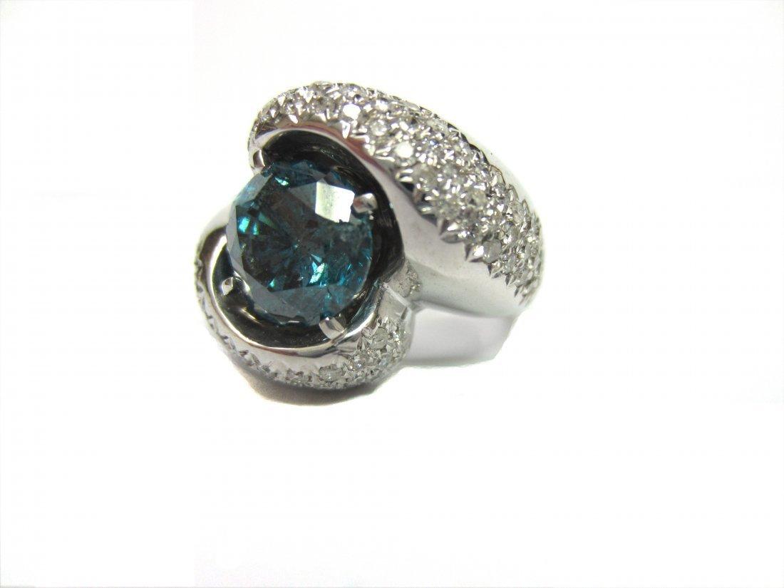Diamond Ring 4.5 ct Total