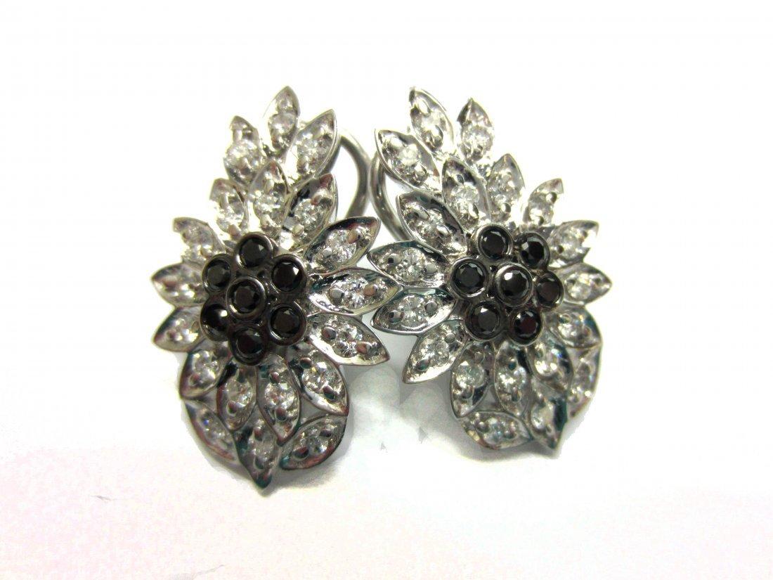 Diamond earrings 1.20 ct Total