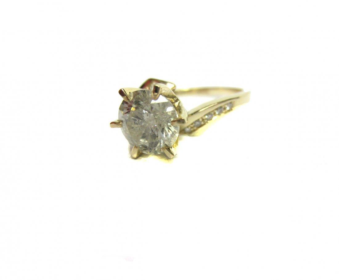Diamond Ring 1.85 ct Total