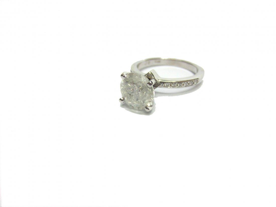 Diamond Ring 2.41 ct Total