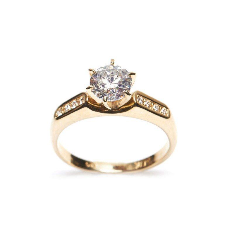Diamond Ring 1.06 ct Total