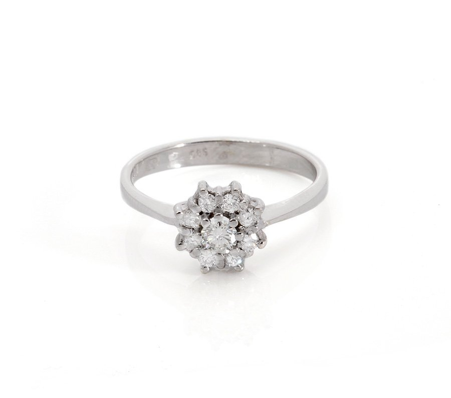 Diamond Ring 0.60 ct Total