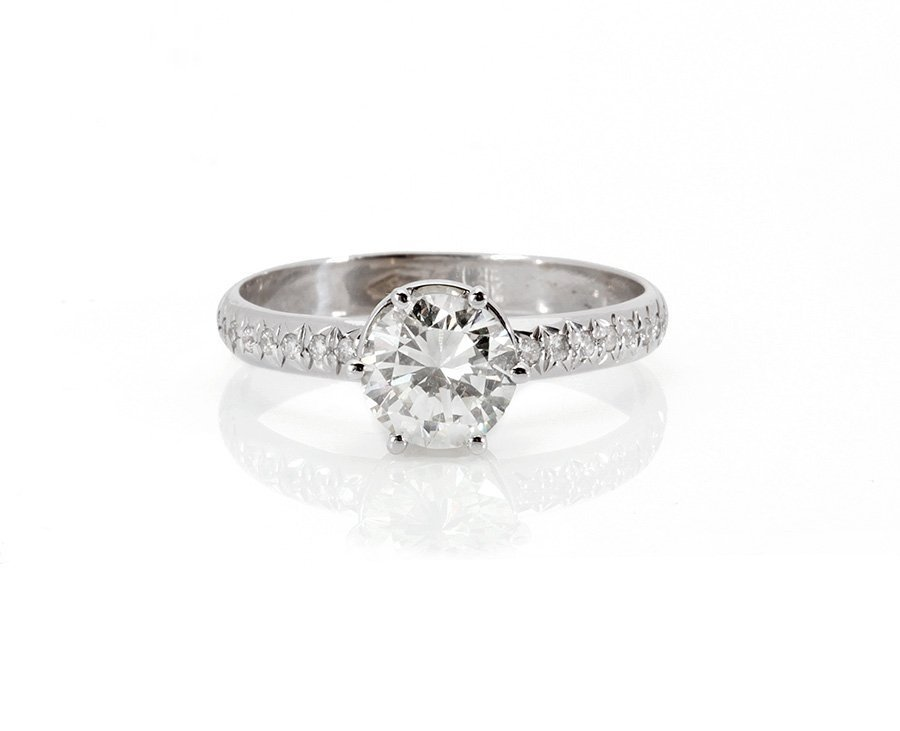 Engagement  Diamond Ring 0.80 ct