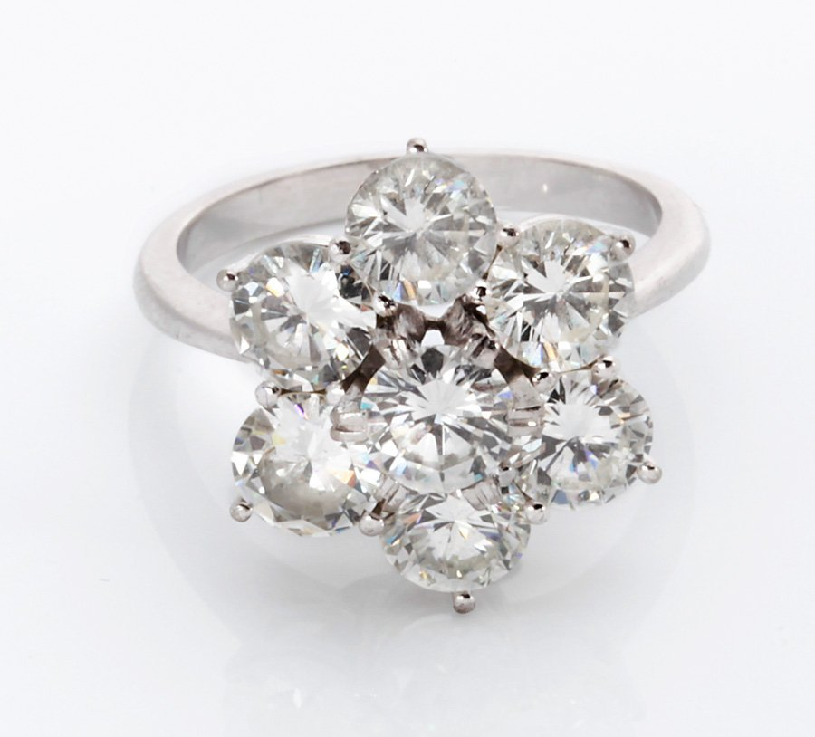 Unique Diamond  Ring 1.6 ct