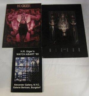 Hans Rudolf Giger Signed Art Book Collection