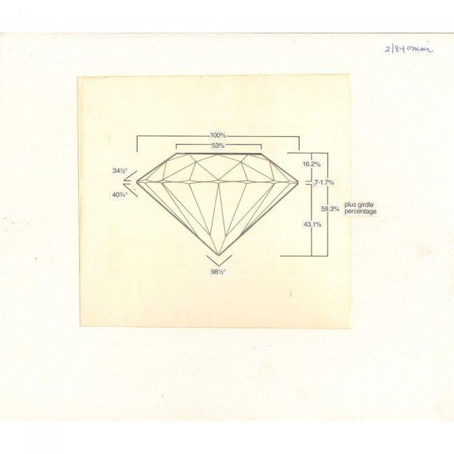 OMNI PRODUCTION ART 1984-02 'THE DIAMOND'