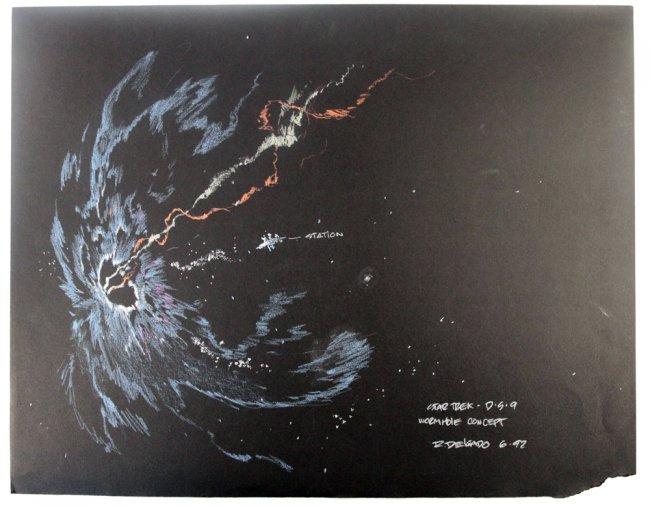 Star Trek - Deep Space Nine Concept Art, R. Delgado