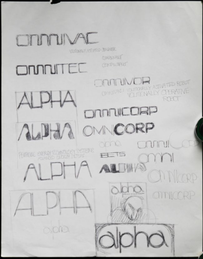 Original OMNI Concept Illustration Page