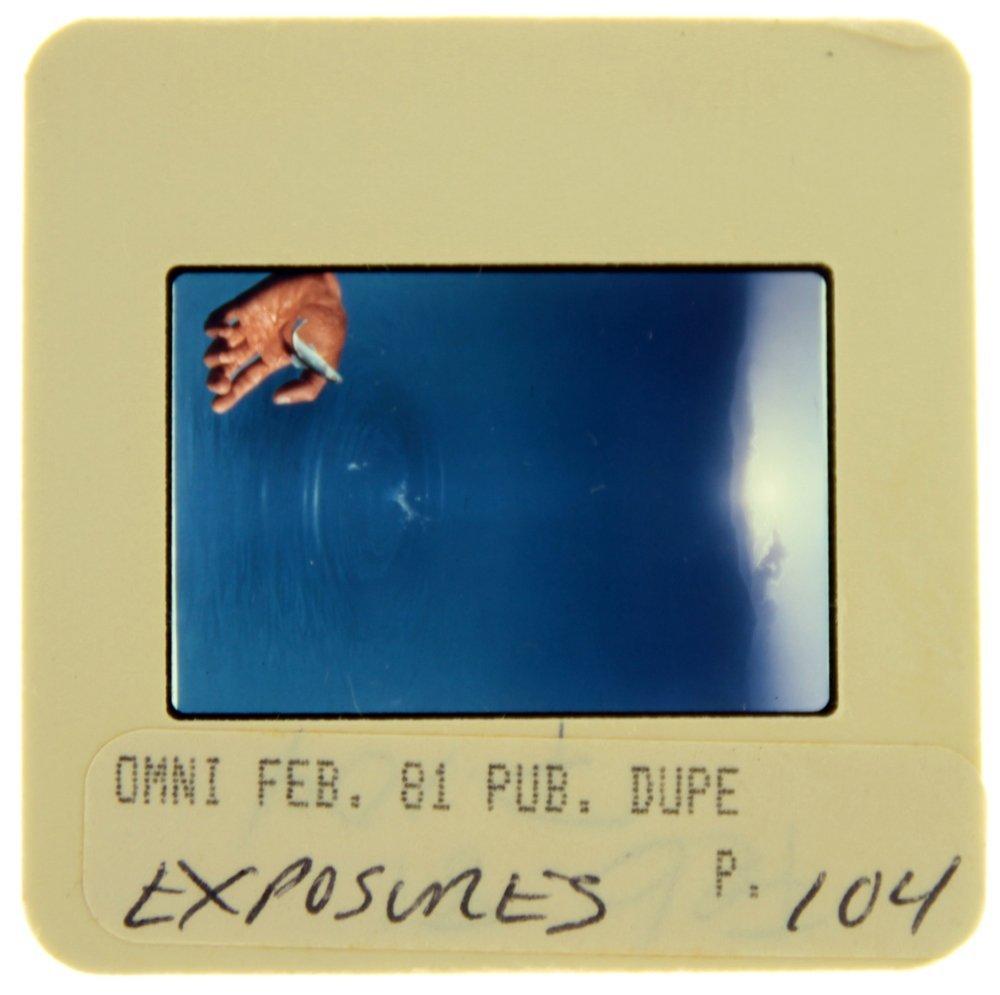 Original OMNI 35mm Slide - Feb '81, Page 104
