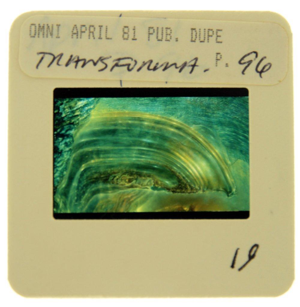 Original OMNI 35mm Slide - April '81, Page 96