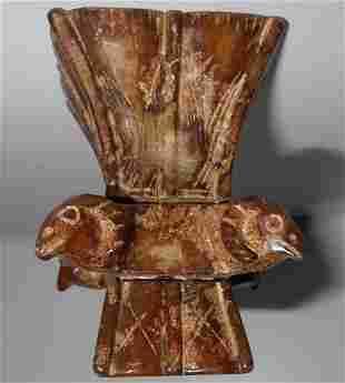 Rare Natural Jade Ram Head Cup