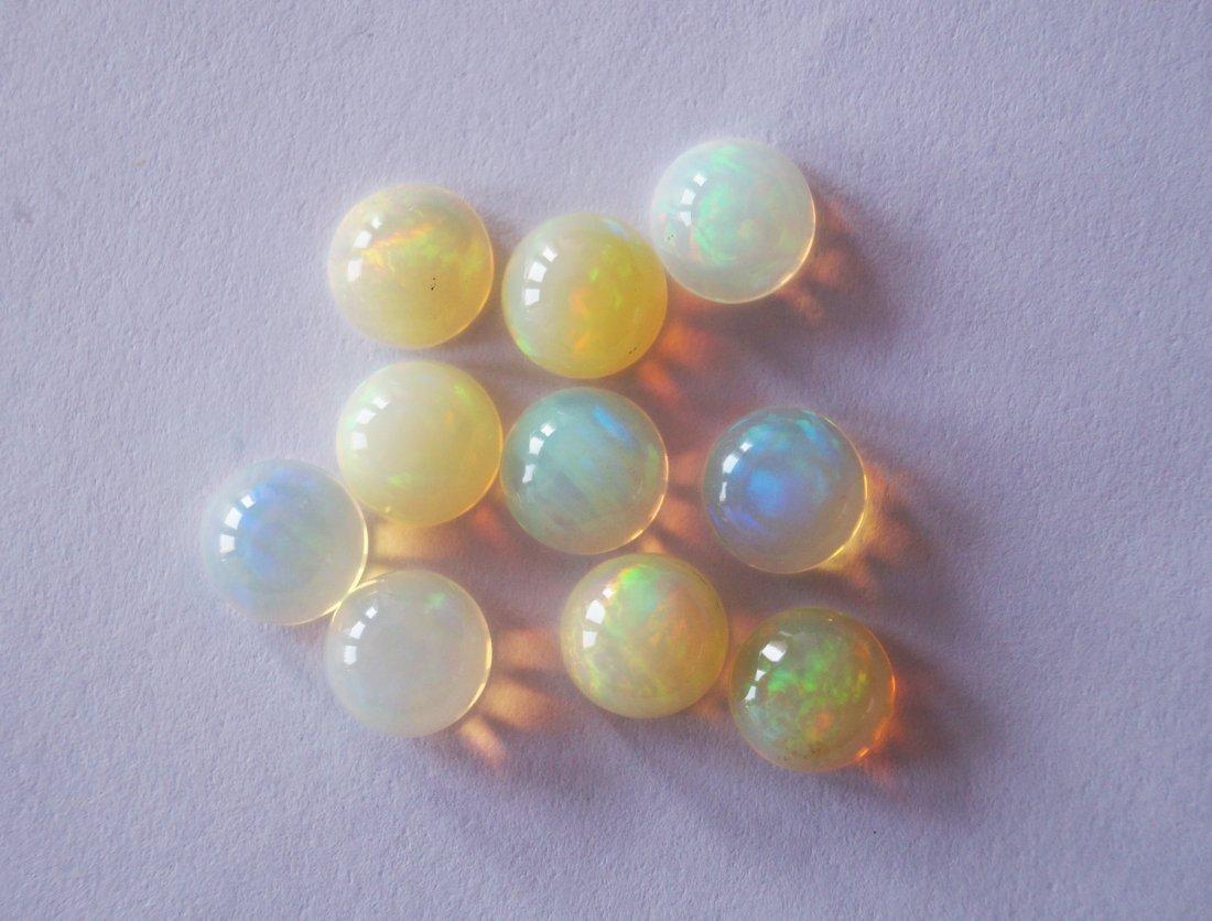 Ethoipea Opal A Lot of 10 pcs, 8mm,13.20 ct.