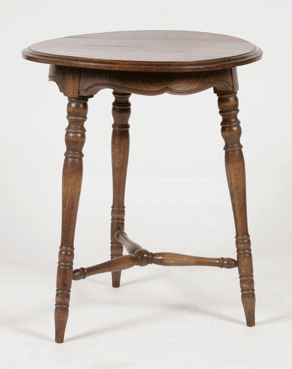 224: Country Oak Side Table