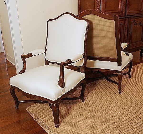 105: Pair of 18th century Armchairs