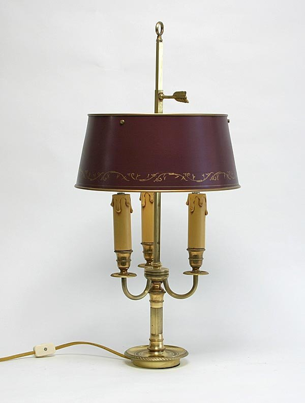 "106: Louis XV Style ""Bouillotte"" Lamp"