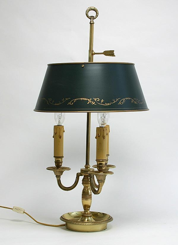 "107: Louis XV Style ""Bouillotte"" Lamp"