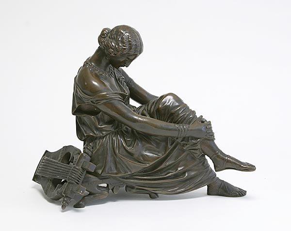 122: Bronze Sculpture of Woman, 1860 by Pradier