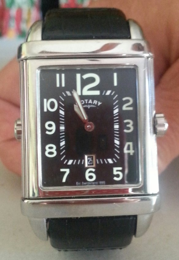 rotary swiss made reverso men s revelation watch new lot 116 img2 3
