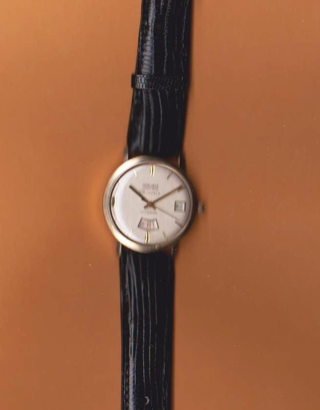 Vintage Gruen 25J 14kt Solid Gold Day-Date Watch RARE
