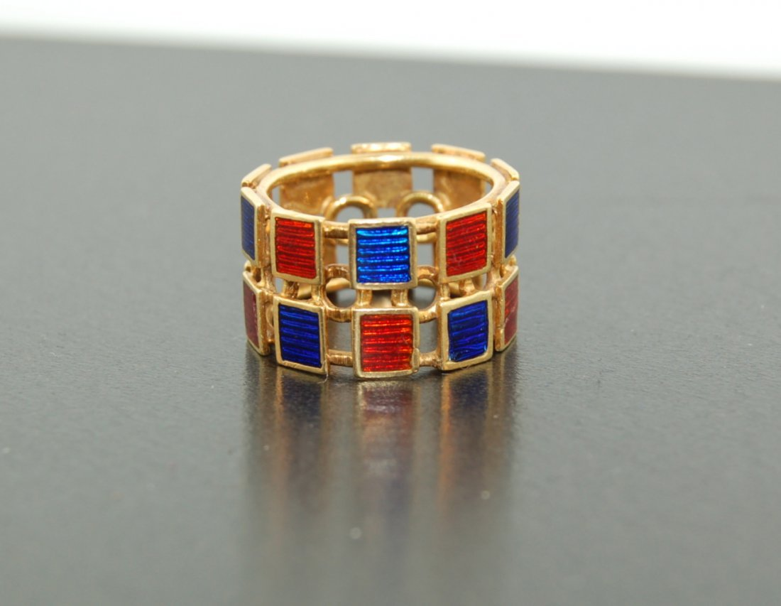 Gucci 18k Yellow Gold Ring
