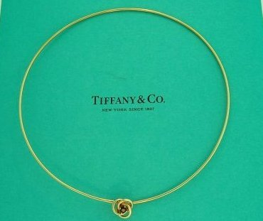 Tiffany & Co. 18K Yellow Gold Collar Necklace