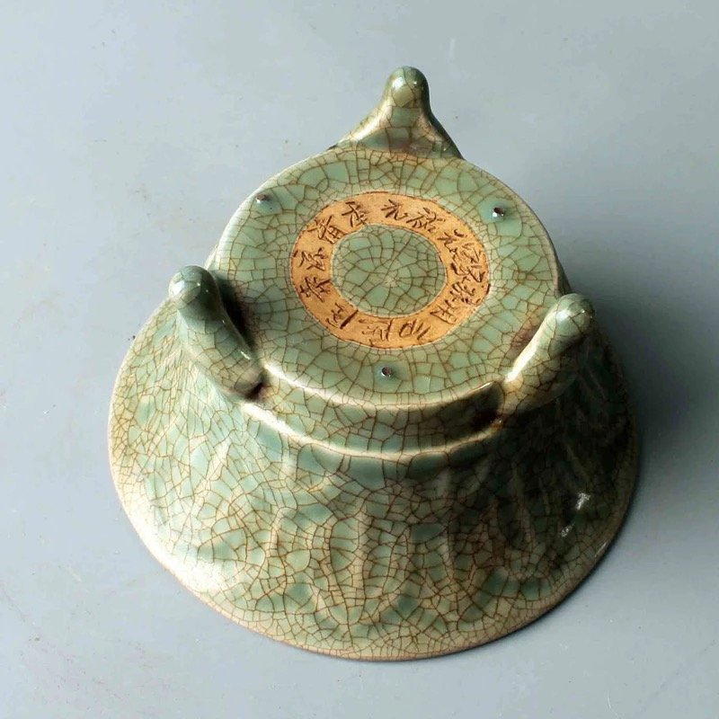 Chinese Guan-Type Censer - 4