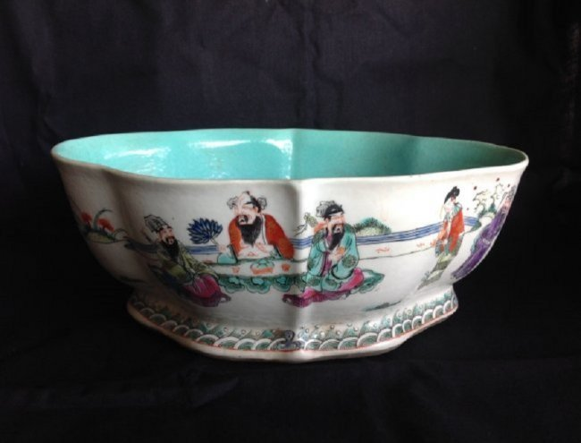 Qing Dynasty Famille Rose Washer