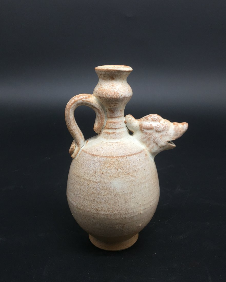 A Rare Late Tang-Five Dynasty Period Amphora - 2