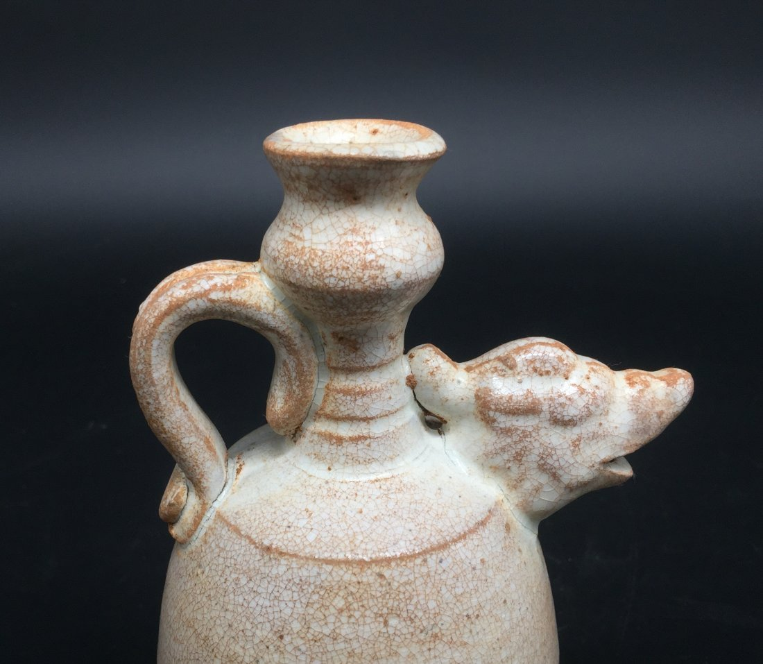A Rare Late Tang-Five Dynasty Period Amphora - 4