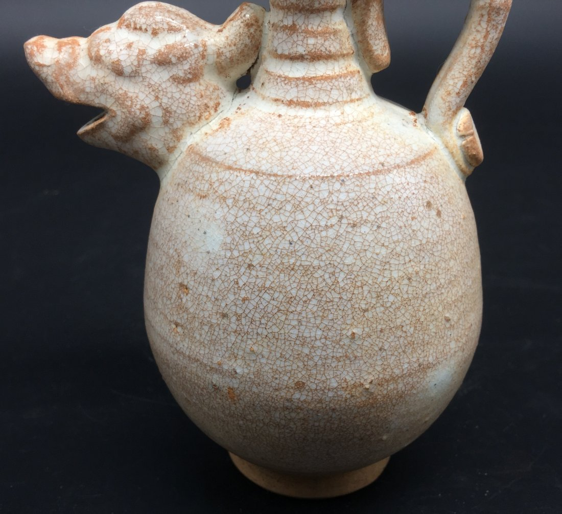 A Rare Late Tang-Five Dynasty Period Amphora - 6
