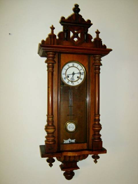 Antique 1800's Schlenker-Kienzle Wall Clock