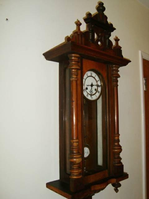 Antique 1800's Schlenker-Kienzle Wall Clock - 2