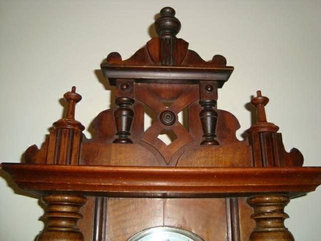 Antique 1800's Schlenker-Kienzle Wall Clock - 3