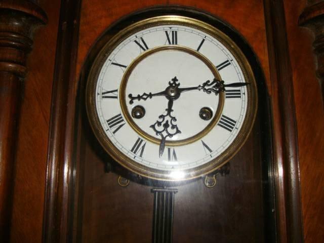 Antique 1800's Schlenker-Kienzle Wall Clock - 4