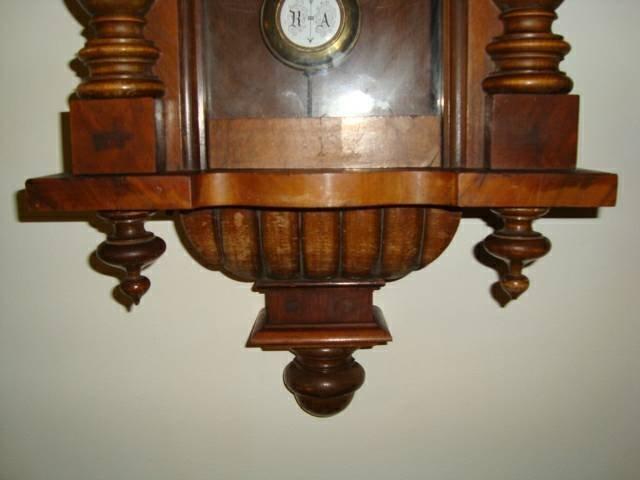 Antique 1800's Schlenker-Kienzle Wall Clock - 5