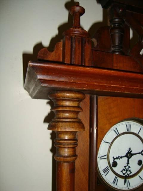 Antique 1800's Schlenker-Kienzle Wall Clock - 6