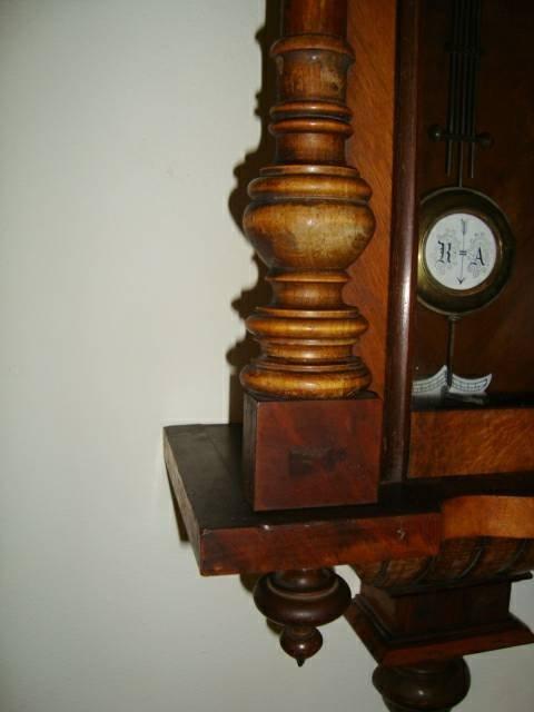 Antique 1800's Schlenker-Kienzle Wall Clock - 7