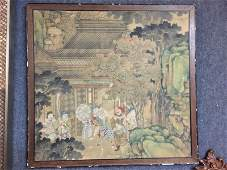 Antique Chinese Painting Panel