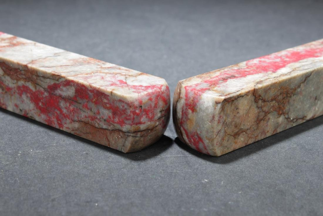 A Pair of Chicken Blood Seal - 4