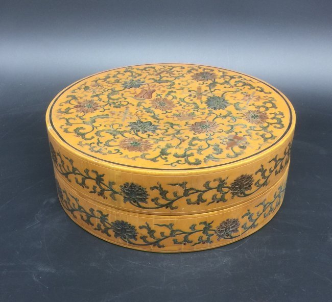 Antique Chinese Lacquer Box