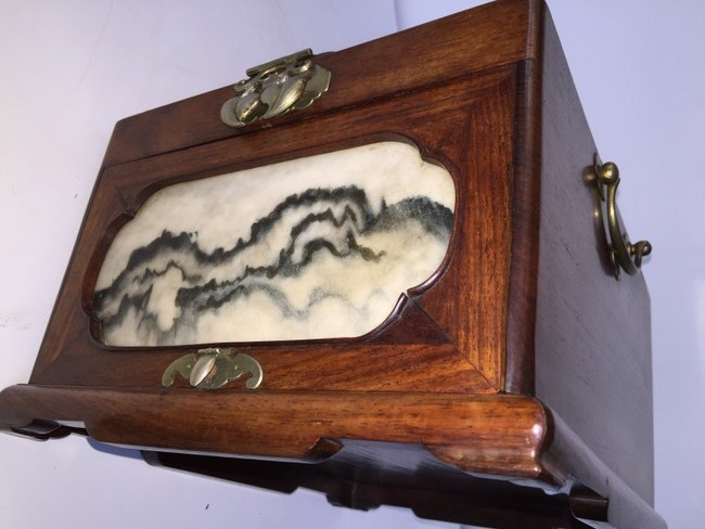 Rare High Quality Chinese HuangHuaLi Dressing Box - 3