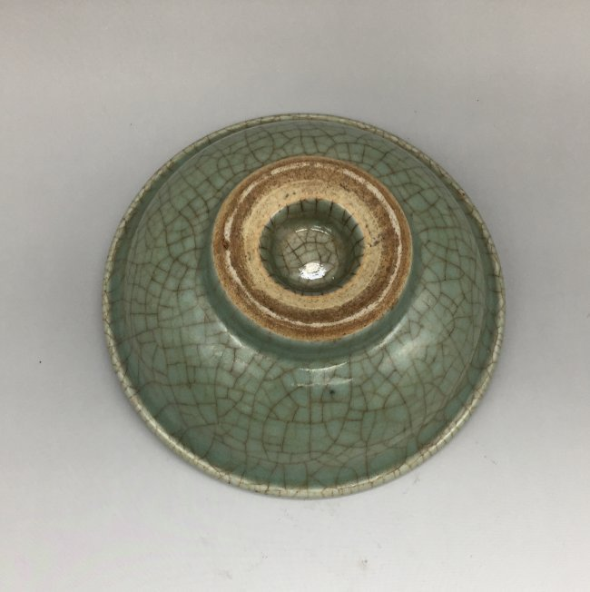 Antique Chinese Celadon-Glazed Bowl - 3