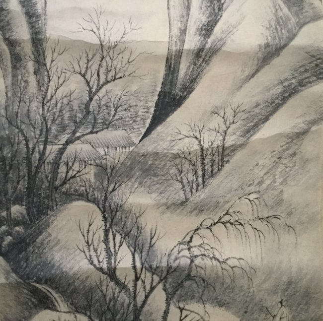 Chinese Landscape Painting Scroll - 3
