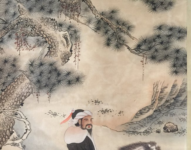 Antique Chinese Painting Scroll - 3