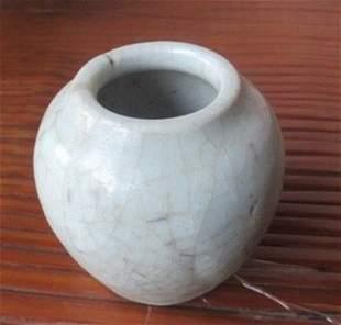 Yuan Dynasty CeladonGlazed Jar