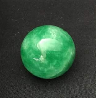 Chinese Jadeite Ball Pendant