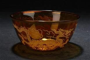 Chinese Glass bowl